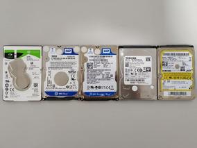 5 Unidades Hd Notbook 1-1tb 2-640gb + 3 De 500gb Semi Novo