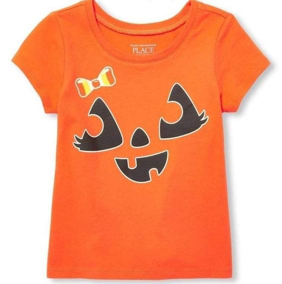 Camiseta Tcp 3t Brilha No Escuro Halloween Abóbora
