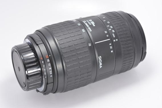 Lente Sigma Dl Macro Af 70-300 F/4 Full Frame P/ Nikon Fx/dx