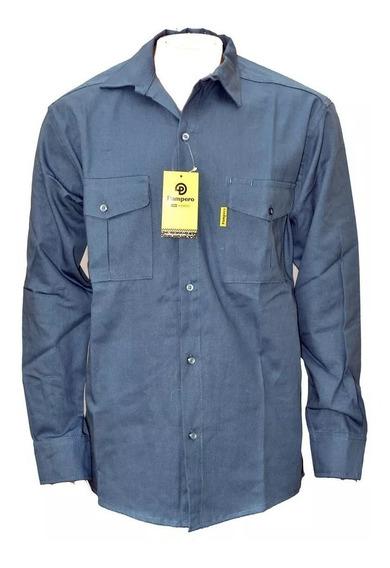 Camisa Pampero Trabajo Todos Los Colores Y Talles