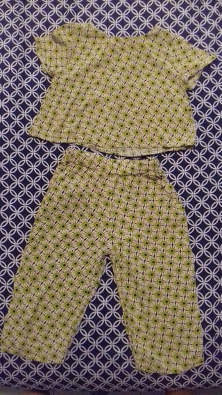 pantalon amarillo zara cropper
