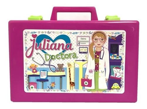 Valija Juliana Doctora Grande Con Luz Art D013 Loonytoys