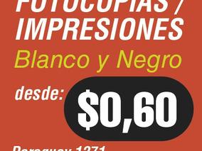 Impresiones Fotocopias Blanco Negro / Color Paraguay 1271