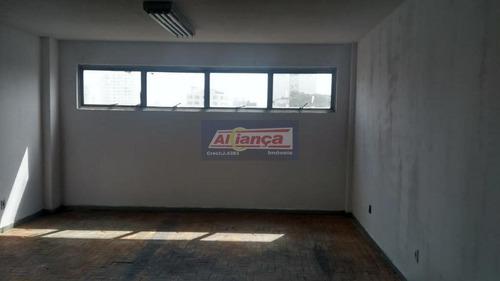 Sala Para Alugar, 50 M² - Centro - Guarulhos/sp - Ai11518