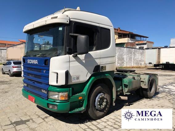 Scania P114 360 Unico Dono - Motor Novo
