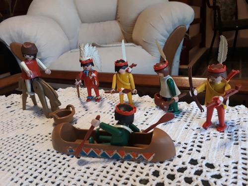 Playmobil Set De Indios Antiguo