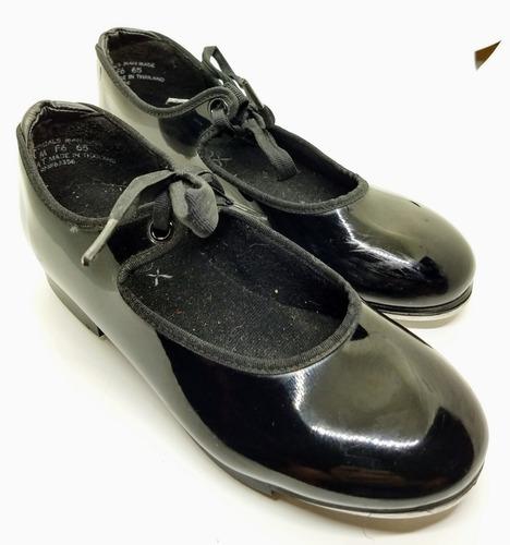 Zapatos De Tap De Usa Capezio Charol Impecable Talle 4 Usa