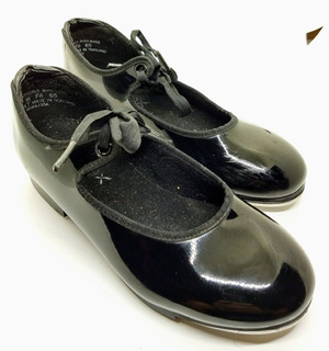 Zapatos De Tap De Usa Capezio Charol Impecable Talle