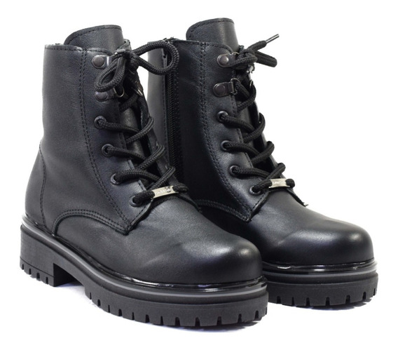 Borcego Bota Mujer Zapato Cuero Legítimo Otoño Invierno