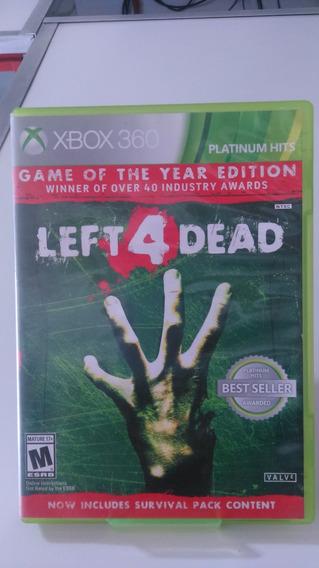 Jogo Left For Dead Xbox360 Original Midia Fisica