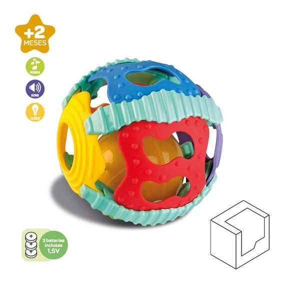 Brinquedo Didático Bola Som E Luz Bebê Educativo Zoop Toys