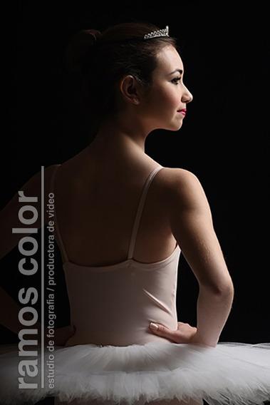 Tutú Plato De Ballet Profesional Flex. Color Blanco