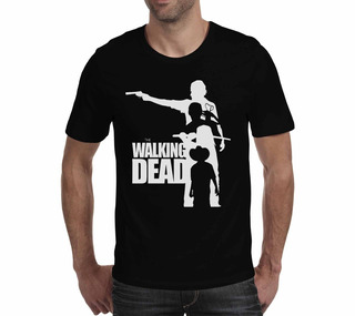 Camiseta The Walking Dead - Preta