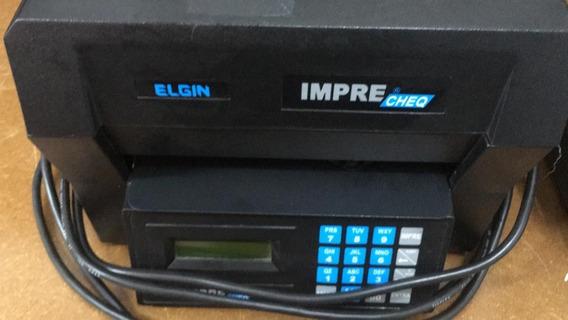 Impressora De Cheque Elgin Usada Para Retirar Peças