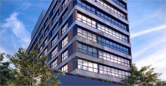 Sala À Venda, 36 M² Por R$ 466.703,17 - Menino Deus - Porto Alegre/rs - Sa0033