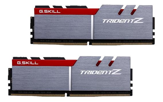 Memoria Ram 16gb G.skill (dual Channel Kit) 3200mhz Ddr4 Trident Z (f4-3200c16d-16gtzb)
