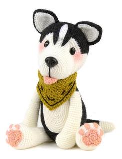 Husky - Perros A Crochet - Nariz De Azúcar Amigurumis