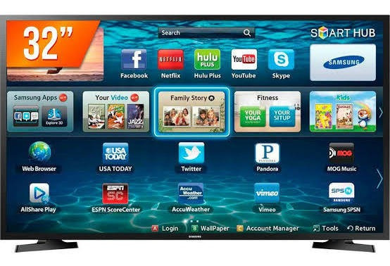 Smart Tv 32 Samsung Wi-fi Youtube Netflix