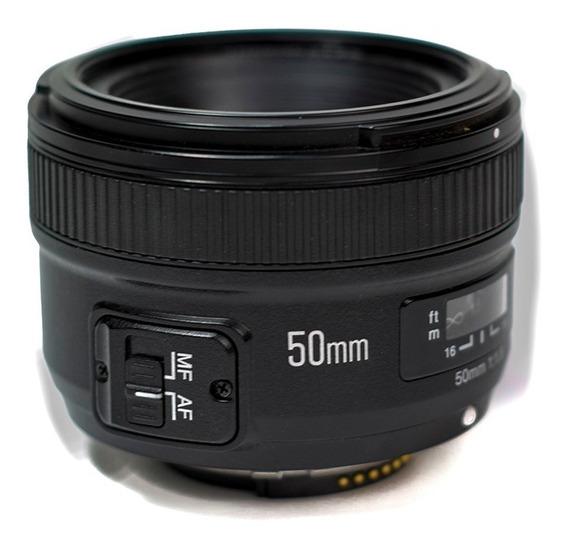 Lente 50mm Nikon F1.8 Yn50 - Af