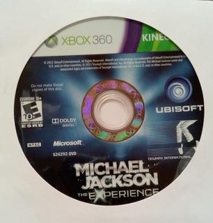 Michael Jackson Experience Xbox 360 Usado Blakhelmet C