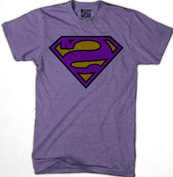 Bizarro Superman Logo Playera Rott Wear