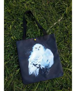 Tote Bag Cartera De Harry Potter Hedwig Lechuza
