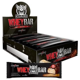 Dark Whey Bar Cx8 Chocolate Amargo
