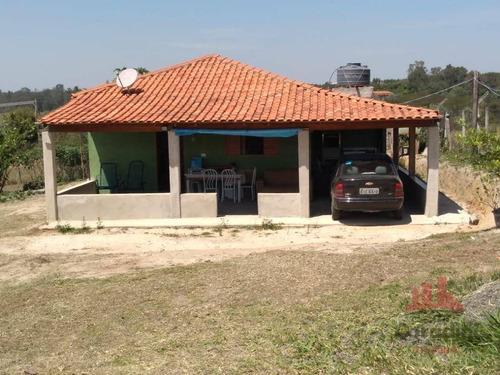 Chácara Com 3 Dormitórios À Venda, 10000 M² Por R$ 370.000 - Conchal Velho - Conchal/sp - Ch0133