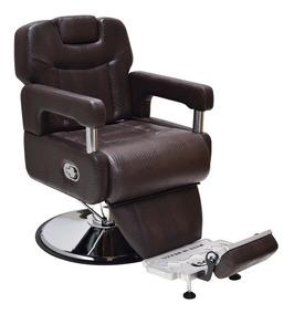 Poltrona Cadeira Reclinável Barbearia Cabeleireiro Barbeiro