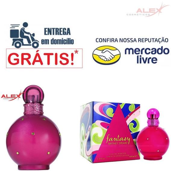 Perfume Fantasy Britney Spears 100ml Original Alex Cosmetic