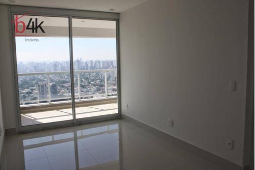 Apartamento 1 Quarto, Locação, 44m² Brooklin, Code Berrini - Ap0866