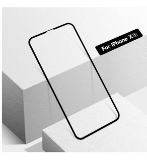 Película Vidro Full Glass Cover 5d 9h iPhone Xs - Preto