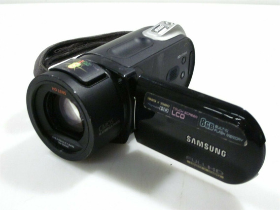 Filmadora Samsung Sc-hmx20c Com 8gb 10x Zoom Excelente