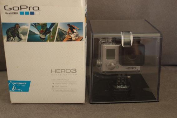 Camera Gopro Go Pro Hero3 White Otimo Etado Frete Gratis