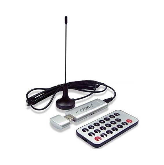 Placa Captura Tv Digital Usb Antena Grava
