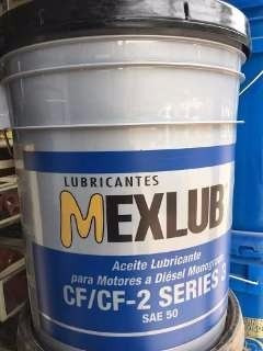 Cubeta Mexlub Monogrado 3 Piezas Mayoreo Y Envio Gratis