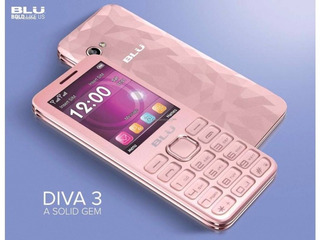 Blu Diva 3 Nuevos En Caja Garantia Doble Sim Desblq Pink