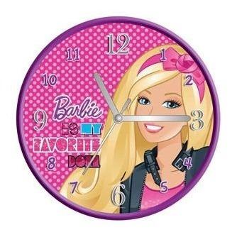 Reloj De Pared Rosado De Barbie (10)