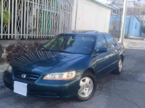 Honda Accord 3.0 Ex-r Sedan V6 Piel Abs Qc Cd Mt 2002