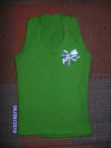 Ne079 Blusa Infantil Verde Nadador Tamanho: 2ano