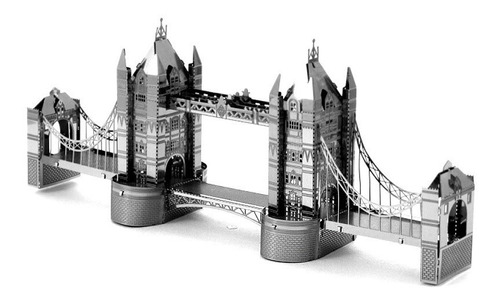 Tower Bridge Rompecabezas Metálico 3d En Stock! Envío Ya