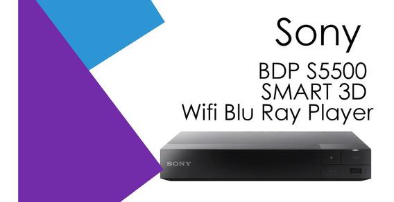 Blu-ray Sony Bdp-s5500 3d Wifi Netflix Hdmi Americano A1