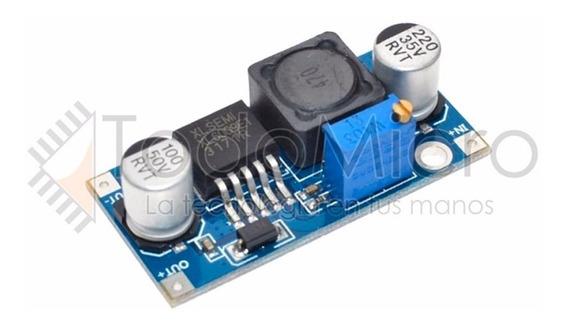 Fuente Step Up Xl6009 Dc Dc Ajustable 5v 35v 3a Max Arduino