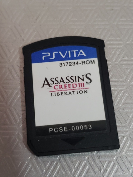 Assassins Creed 3 Liberation - Ps Vita - Original - Sem Capa