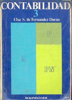 Elsa S. De Fernández Durán: Contabilidad 3