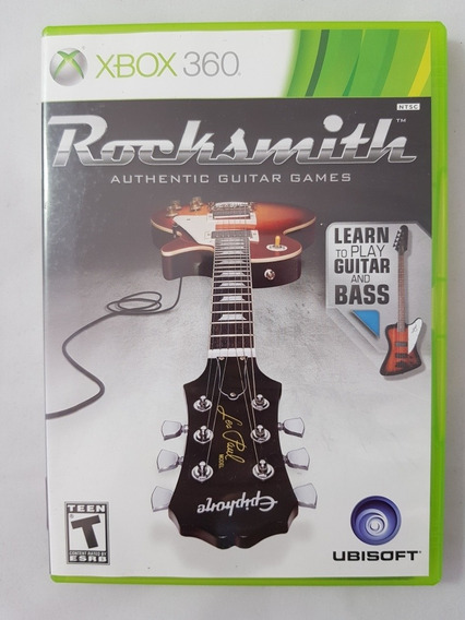 Rocksmith Xbox 360 Mídia Física Pronta Entrega
