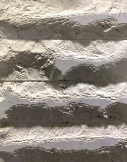 Revestimento Tijolo Em Mármore Bege Bahia 22x7cm (1m²)