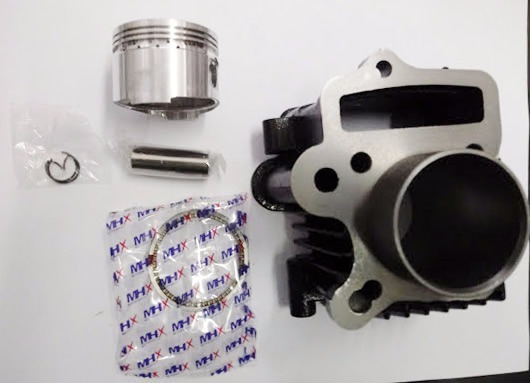 Kit Cilindro Motor Shineray50cc/zig50 Para 70cc