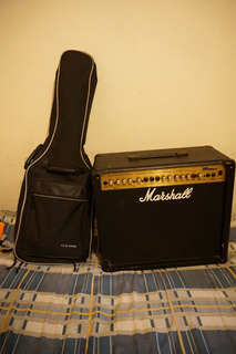Guitarra Electrica Ltd + Amplificador Marshall