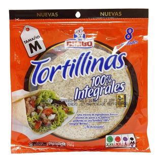 Bimbo Tortillas Integrales Tamano M X 8 Unidades